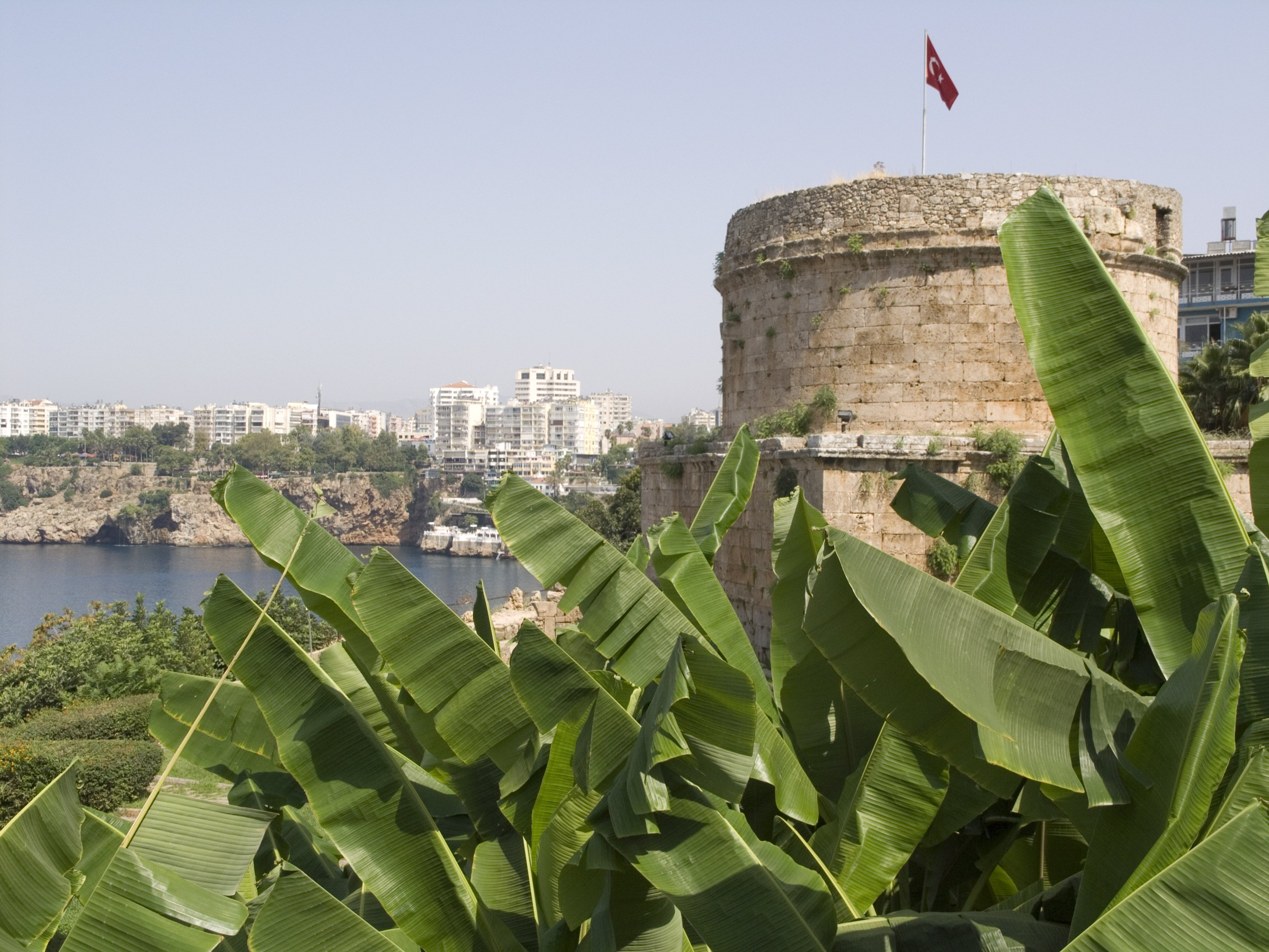 Достопримечательности средиземноморского побережья Турции