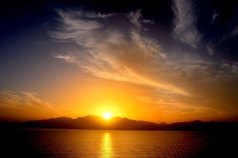 остров Махмея закат