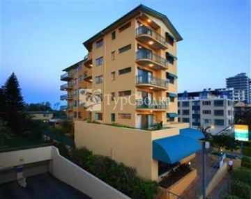 Sunshine Towers Holiday Apartments Maroochydore 4*